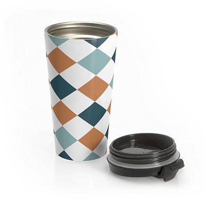 Checkers Travel Mug