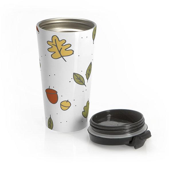 Falling Leaf Travel Mug