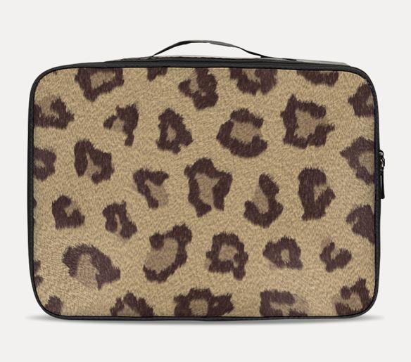 Leopard Travel Case