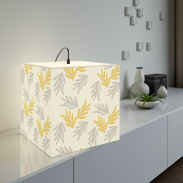 Yellow Leaf Lamp