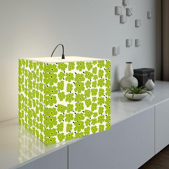 Green Marimekko Lamp