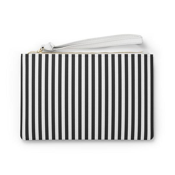 Lines Clutch Bag