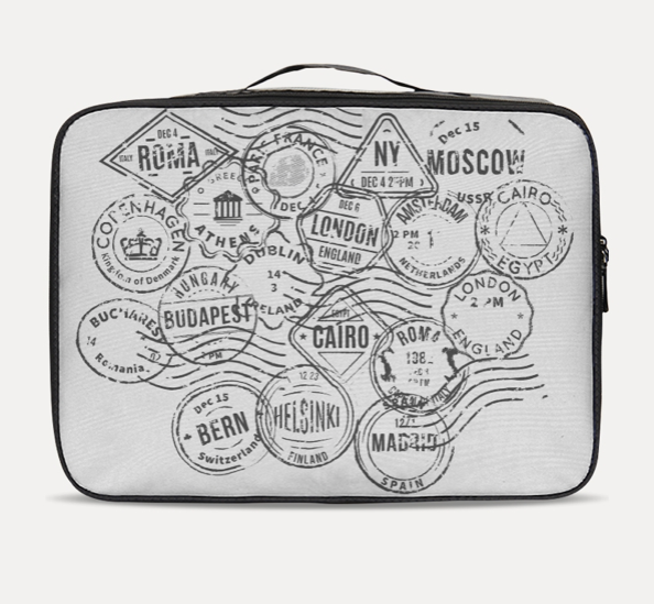 Stamps Travel Case