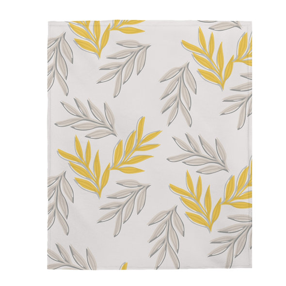 Yellow Leaf Blanket