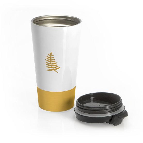 Goldwen Leaf Travel Mug