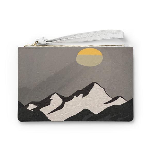 Mountains Clutch Bag