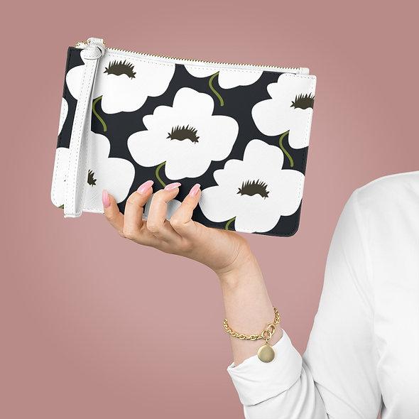 Marimekko White Clutch Bag