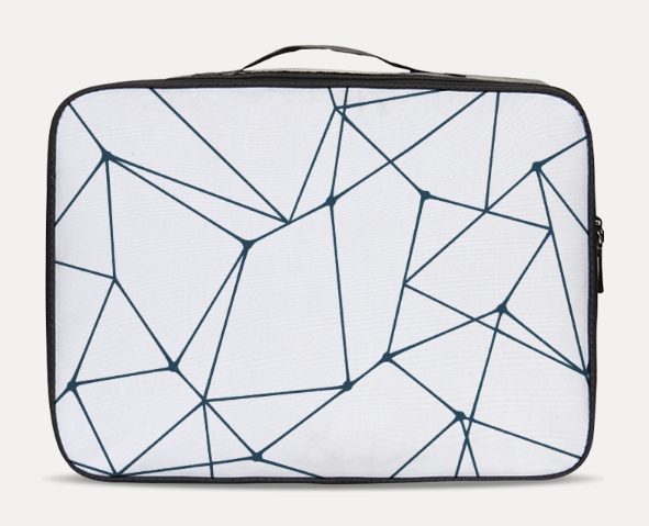 Abstract Lines Travel Case