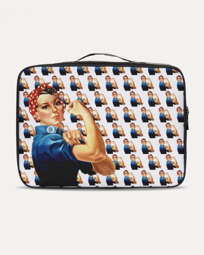 Rosie the Riveter Inspired Travel Set