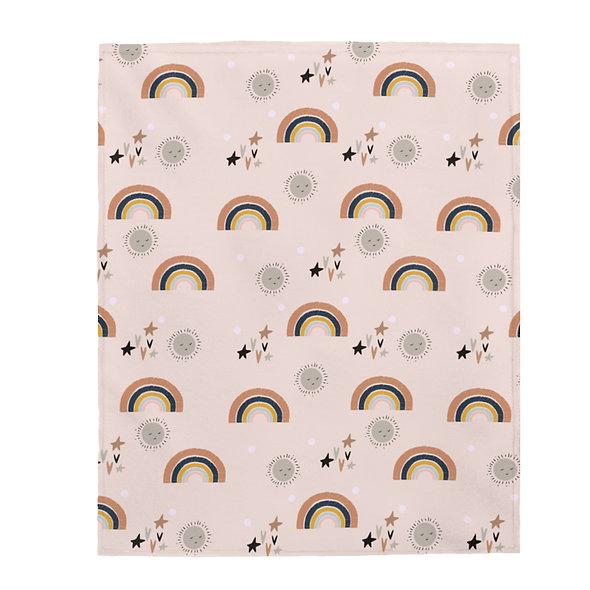 Boho Rainbow Blanket
