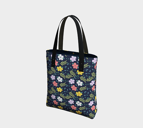 Colorful Flowers Urban Bag