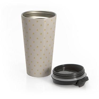 Golden Dots Travel Mug