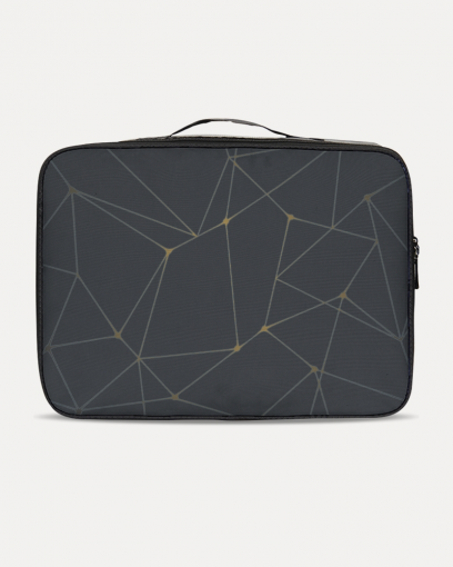 Black Abstract Travel Set