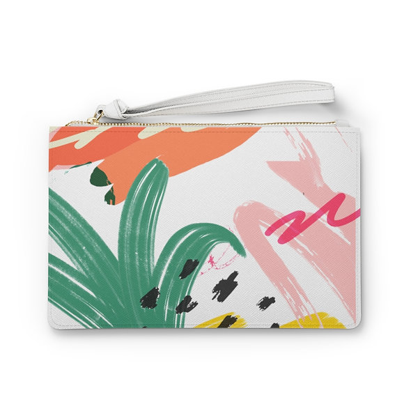 Tropical Clutch Bag