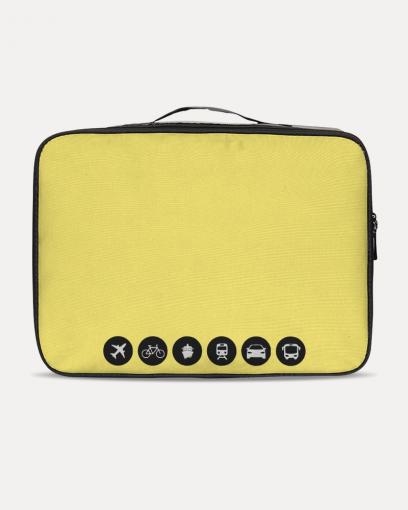 Bright Yellow Travel Set
