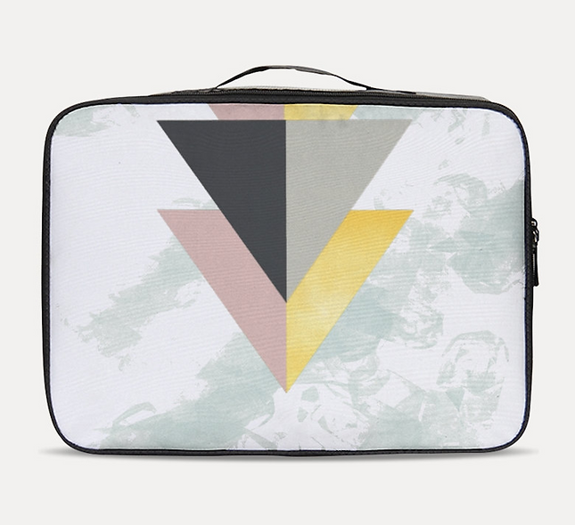 Abstract Travel Case