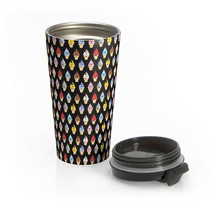 Ice Cream Cones Eco-Travel Mug