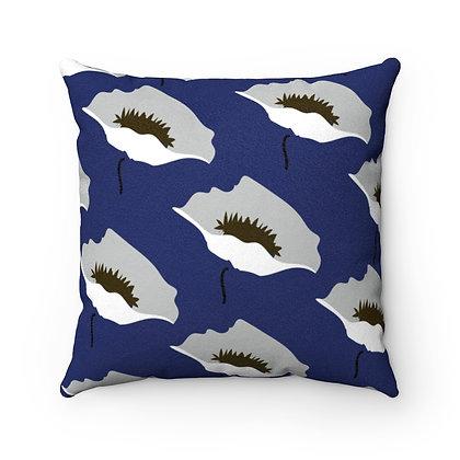 Blue Marimekko Pillow Case