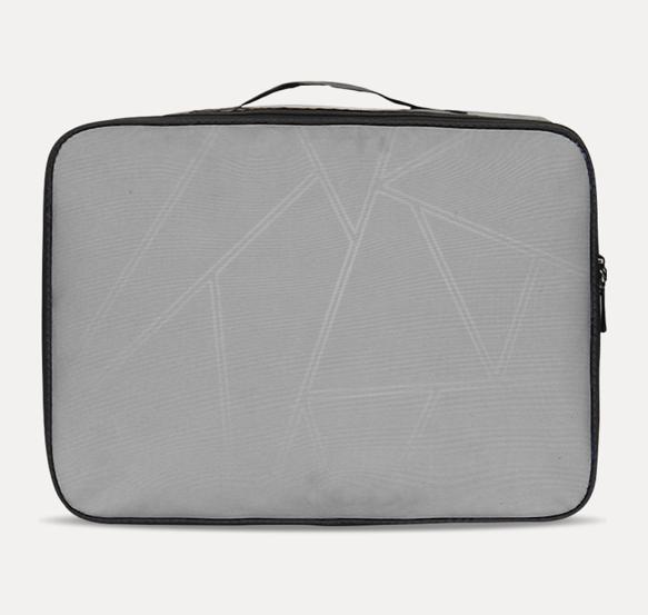 Gray Travel Case