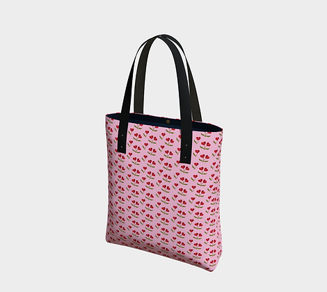 Heart Cherries Urban Bag