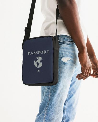Unisex Passport Messenger Pouch