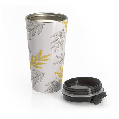 Yellow Leaf Eco-Travel Mug