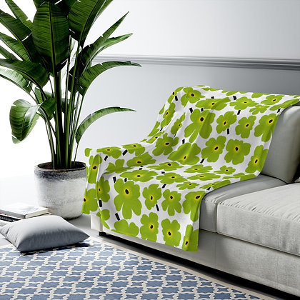 Green Marimekko Blanket