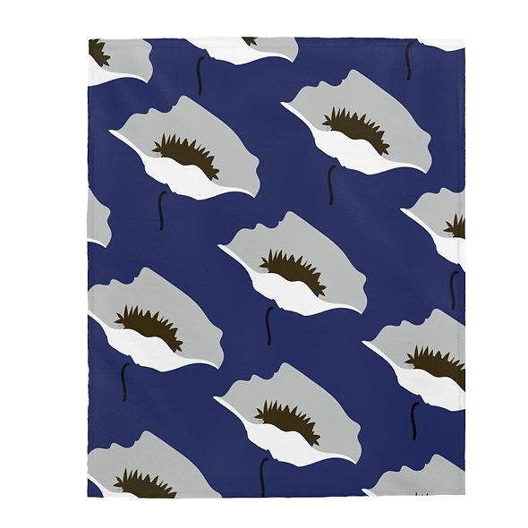 Blue Marimekko Blanket