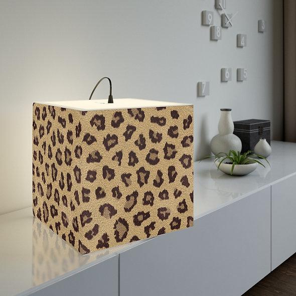 Leopard Lamp