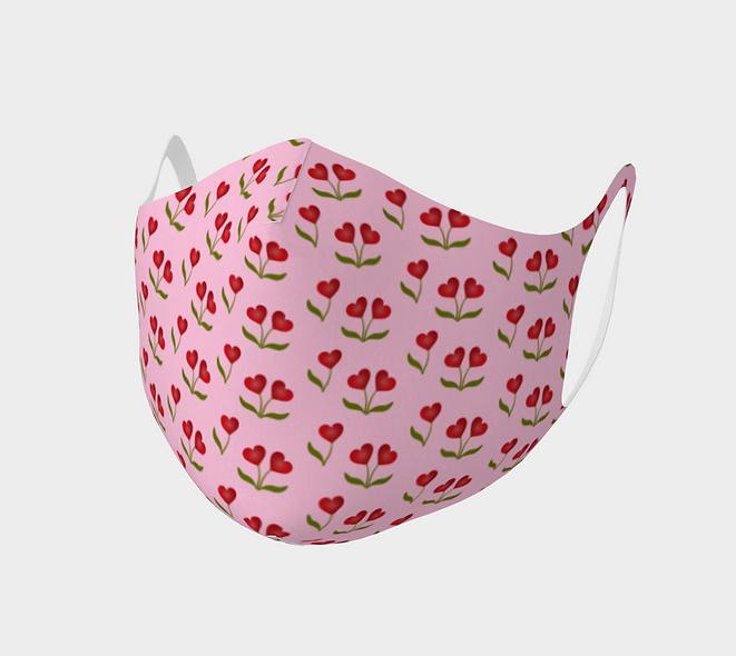 Heart Cherries Double Knit