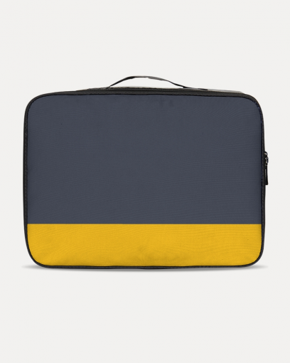 Blue & Yellow Travel Case