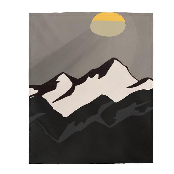 Mountains Blanket