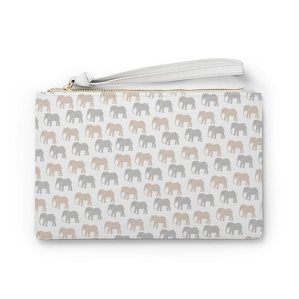 Elephant Clutch Bag