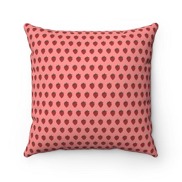 StrawB Pillow Case