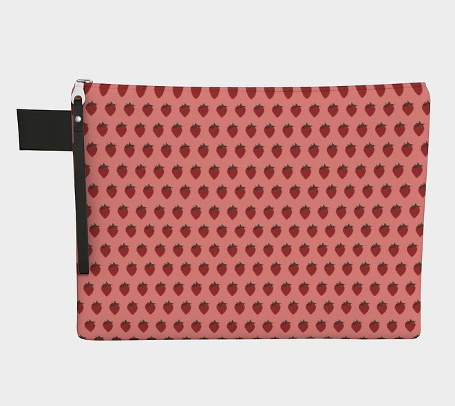 StrawB Carry-all Pouch