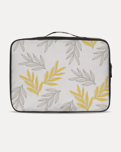 Yellow Leaf Travel Case