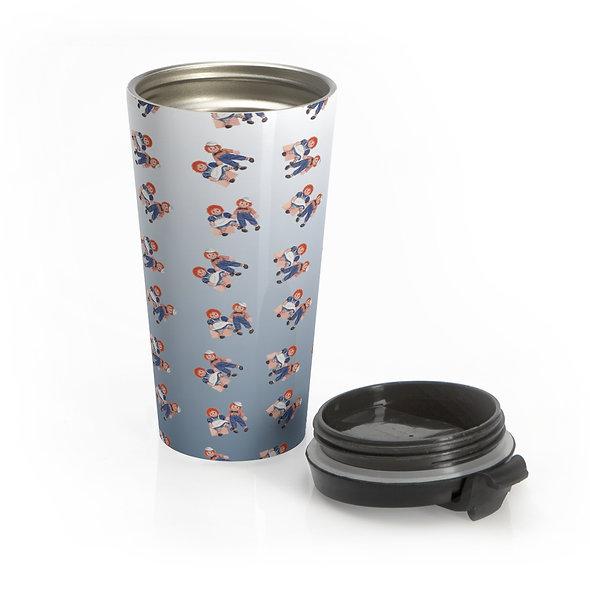 Raggedy Ann Eco-Travel Mug