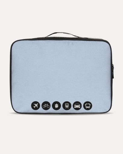 Light Blue Travel Set