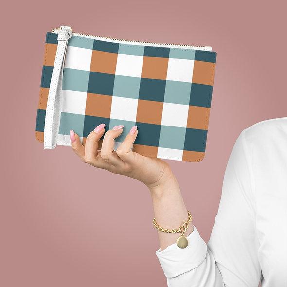 Squares Clutch Bag
