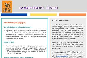 Copy of INFOLETTRE Nº2 FRANCAIS 10_2020.