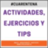 Copy of TIPS Y CONSEJOS PARA LA #CUARENT