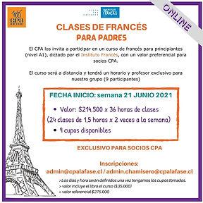 EXCLUSIVO PARA SOCIOS CPA Inscripciones
