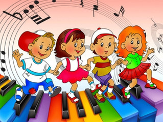 Занятия по музыке!