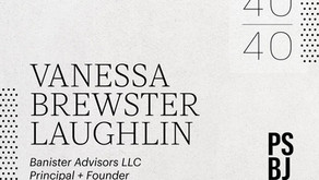 Vanessa Brewster Laughlin named 40 under 40
