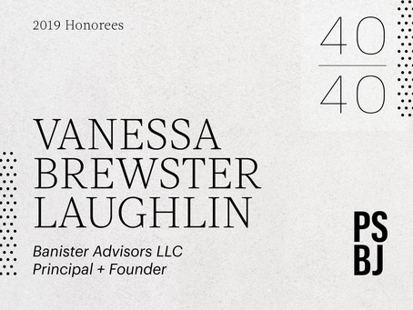 Vanessa Brewster Laughlin named 40 under 40