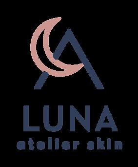 Luna Atelier Skin logo design by Huck Yeah Studio