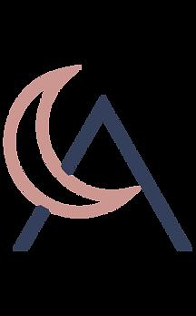Luna Atelier Skin logo mark by Huck Yeah Studio