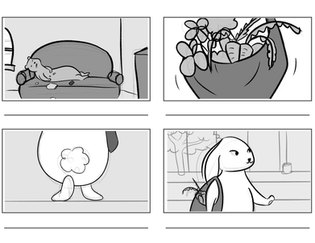 Fable Storyboards