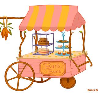 Buns Buns Cake Cart