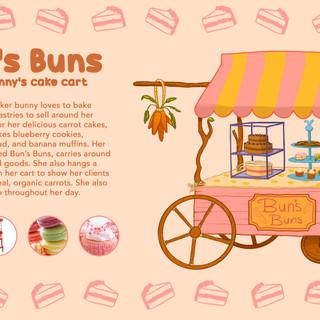 Bun's Buns Cart